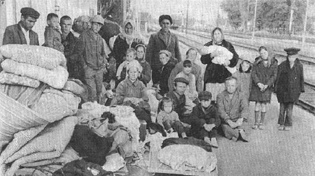 La deportación soviética de los tátaros de Crimea