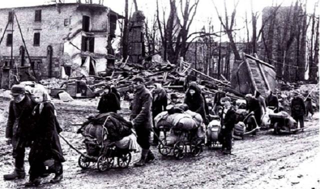 Los campos de refugiados después de la Segunda Guerra Mundial