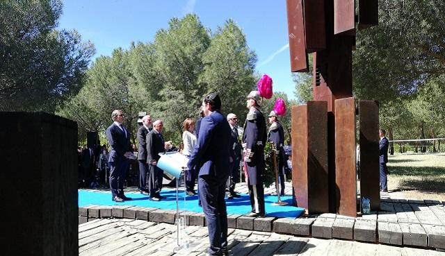 Acto del Día de Recuerdo del Holocausto (Yom Hashoá) en Madrid (Parque Juan Carlos I, 12/5/2019)