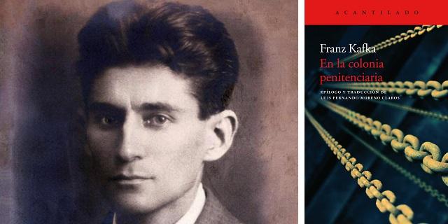 """""""En la colonia penitenciaria"""" de Franz Kafka, con Luis Fernando Moreno Claros"""