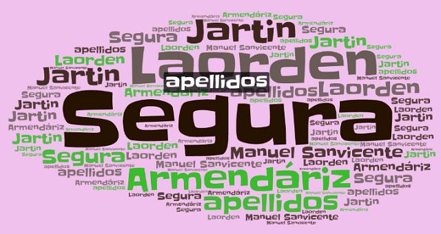 El origen de los apellidos Segura, Jartin, Armendáriz y Laorden