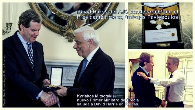 Los griegos y las comunidades judías reciben con regocijo la elección en Grecia del nuevo primer ministro