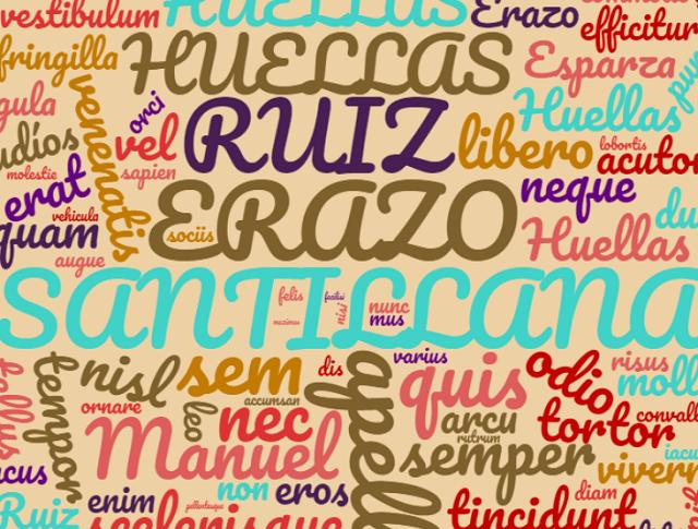 El origen de los apellidos Ruiz, Esparza, Santillana y Erazo