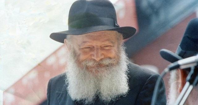 """Los """"jeques"""" Abraham, Isaac y Jacob y tributo al Rebe de Lubavitch"""