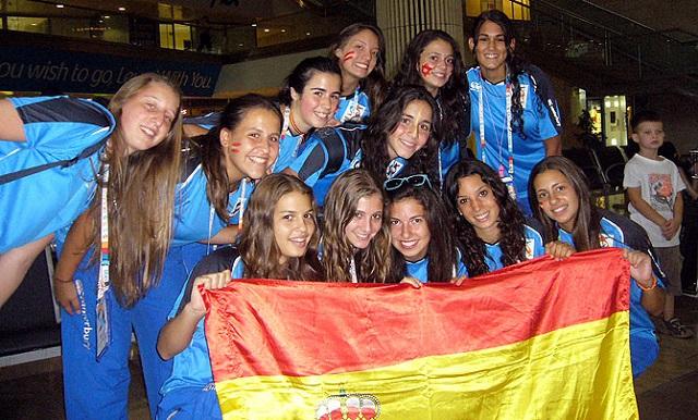 España, en los XV Juegos Macabeos Europeos de Budapest, con Diego Lerner
