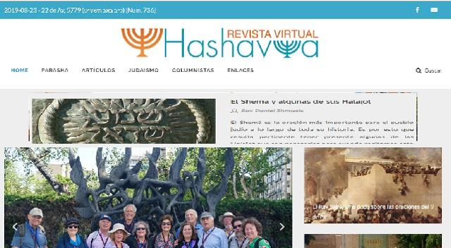 """""""Hashavúa"""", el semanario judío online de Colombia, con Raquel Goldshmidt"""