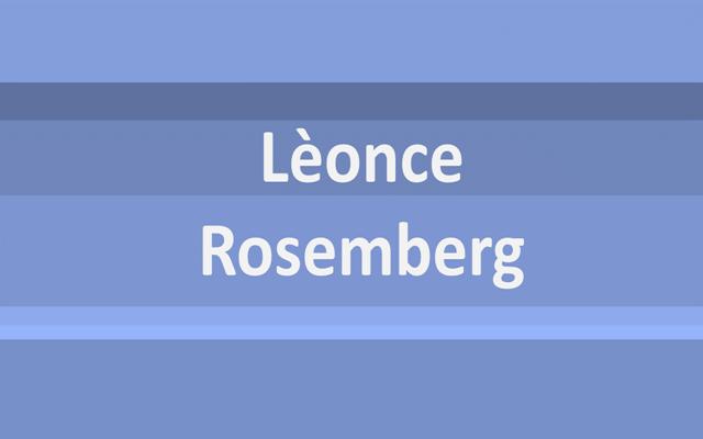 Lèonce Rosemberg: más que un mercader