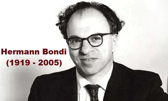 La órbita matemática de Hermann Bondi