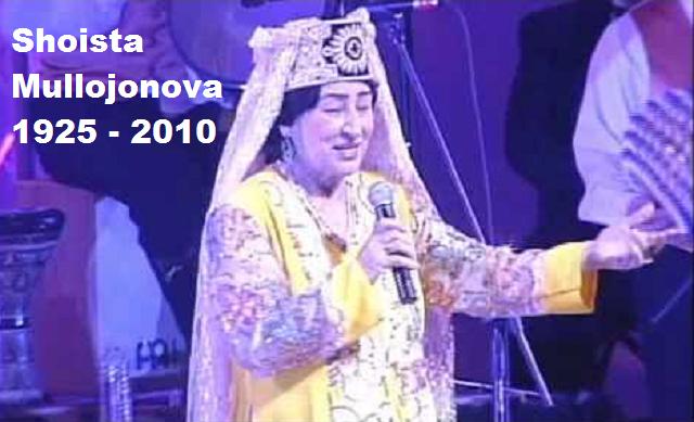 Shoista Mullojonova: la diva tayika