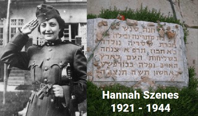 Hannah Szenes, paracaidista y poetisa