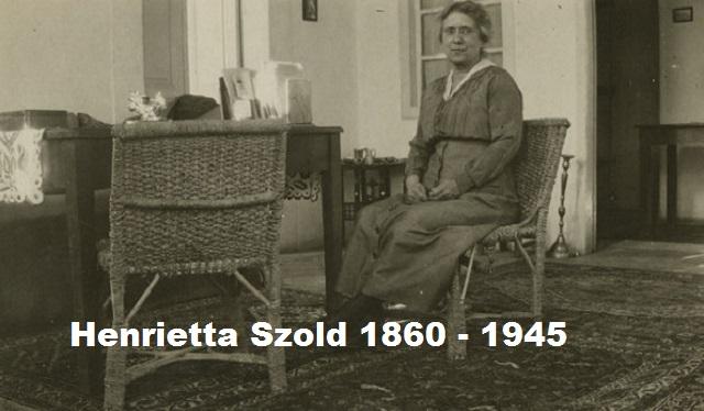 Henrietta Szold, sionista y creadora de la organización Hadassa