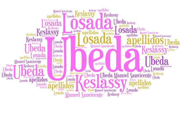 El origen de los apellidos Úbeda, Losada y Keslassy