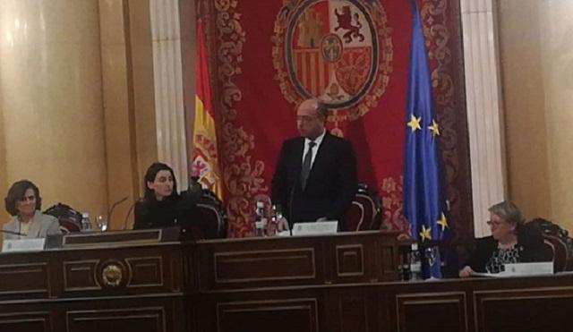 Acto de estado en el Día Oficial de la memoria del Holocausto y la prevención de los crímenes contra la humanidad (Senado, Madrid, 27/1/2020)