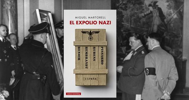 """""""El expolio nazi"""", con su autor Miguel Martorell"""