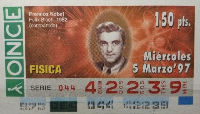 Felix Bloch, Premio Nobel de Física