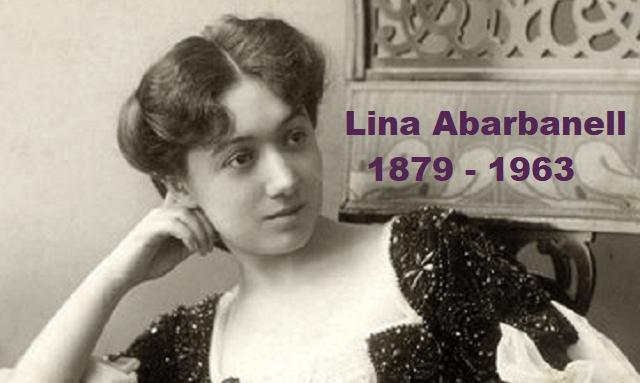 Lina Abarbanell, diva de la ópera