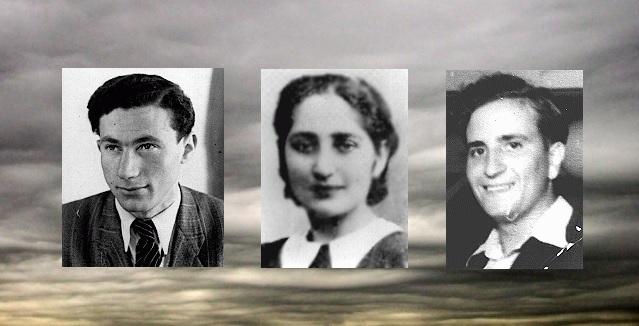 Yitzhak (Irving) Balsam, Golda (Olga) Bancic y Chuna Grynbaum