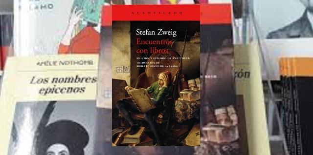 """""""Encuentro con libros"""" de Stefan Zweig"""
