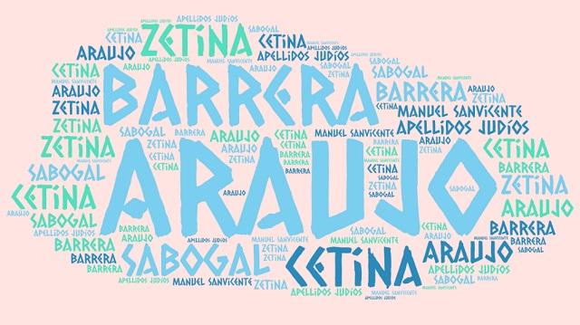 El origen de los apellidos Cetina (Zetina), Sabogal, Barrera y Araújo