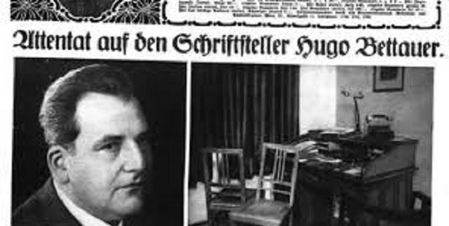 Hugo Bettauer, libre hasta la muerte