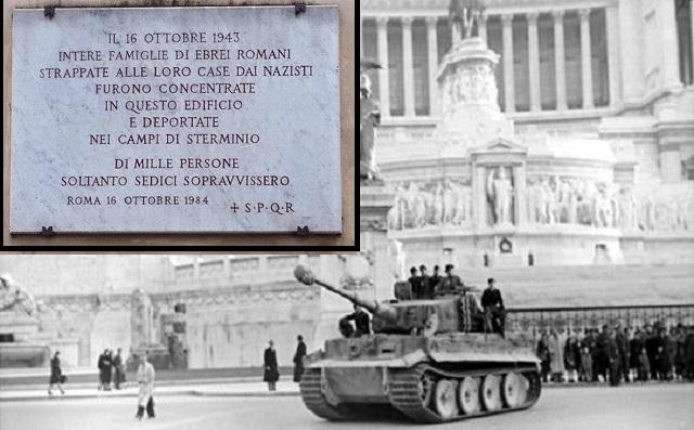 Homenaje al más de un millar de judíos romanos enviados a la muerte por los nazis