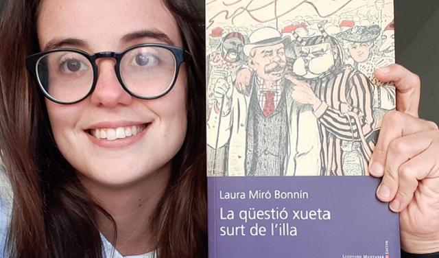 """La qüestió xueta surt de l'illa"", con su autora Laura Miró"