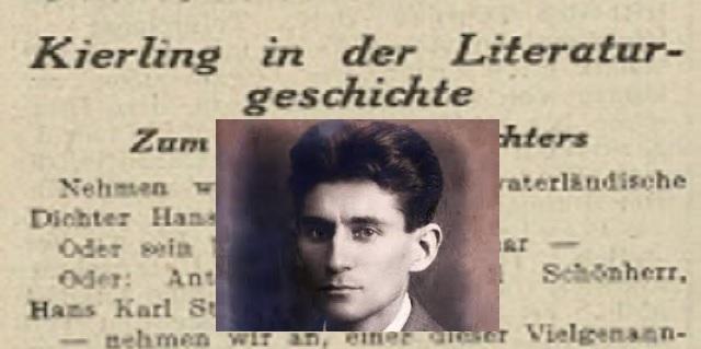 La muerte de Kafka en Viena: un hallazgo, un primer homenaje