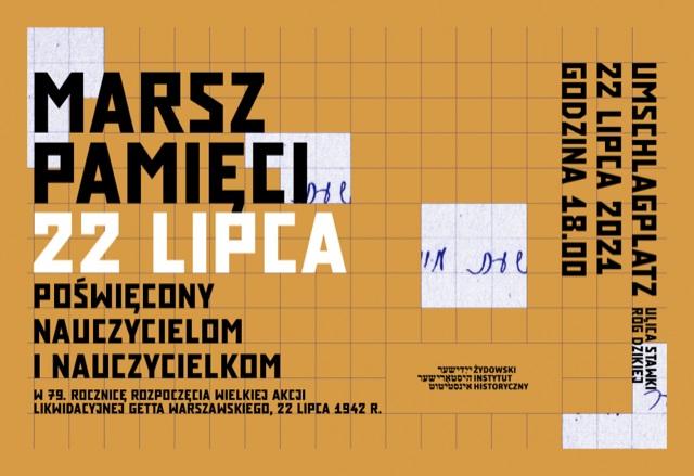 La marcha de la memoria de Varsovia