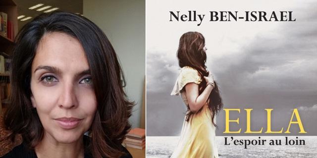 """""""Ella, la esperanza en la distancia"""", con su autora Nelly Ben-Israel"""