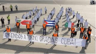 (FOTO 1) Articolo - Alle O.G.R. di Torino arrivano in aiuto gli infermieri e i medici di Cuba