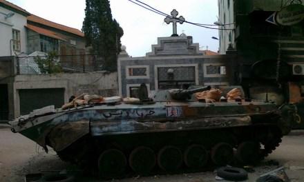 """FOTO RIBELLI / Profanazioni e sacrilegi anticristiani in Siria / """"Stanno massacrando gente inerme"""""""