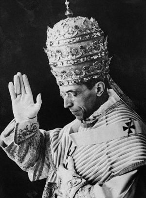 ATTUALE E PROFETICO. Pio XII sulla situazione del Vicino Oriente.