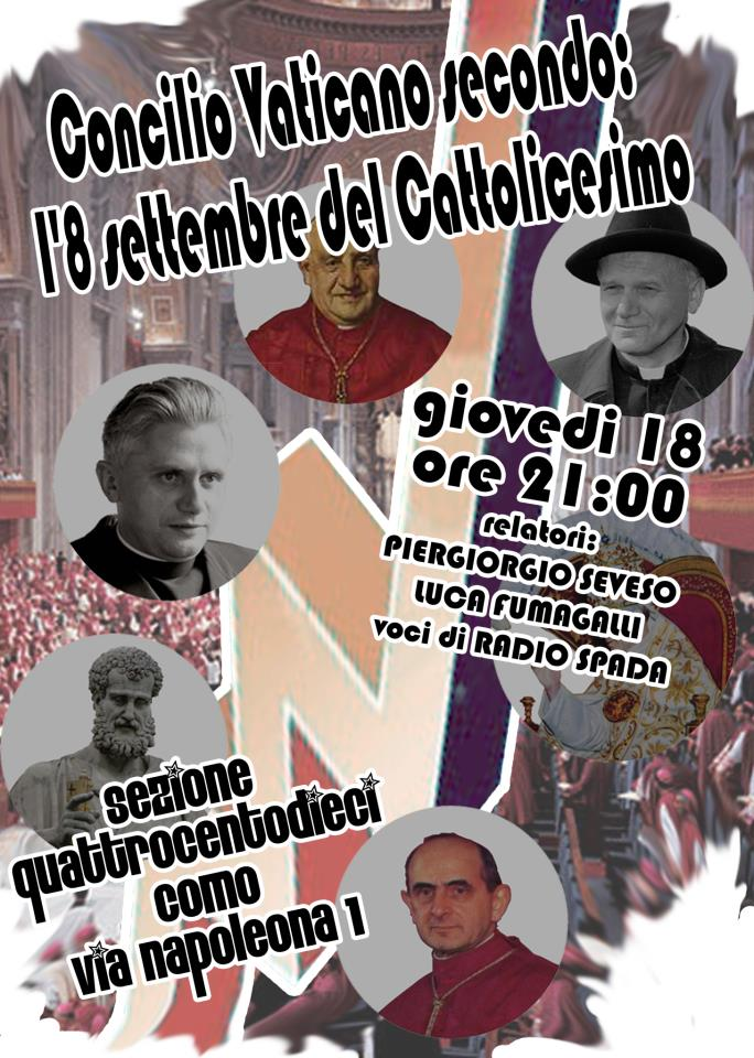 Concilio Vaticano secondo: l'8 settembre del Cattolicesimo