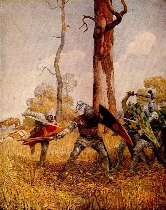 La battaglia della vita: una preziosa lezione da Re Artù e dai suoi cavalieri
