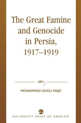 Il grande olocausto persiano
