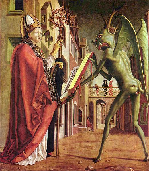 Tre santi contro il demonio