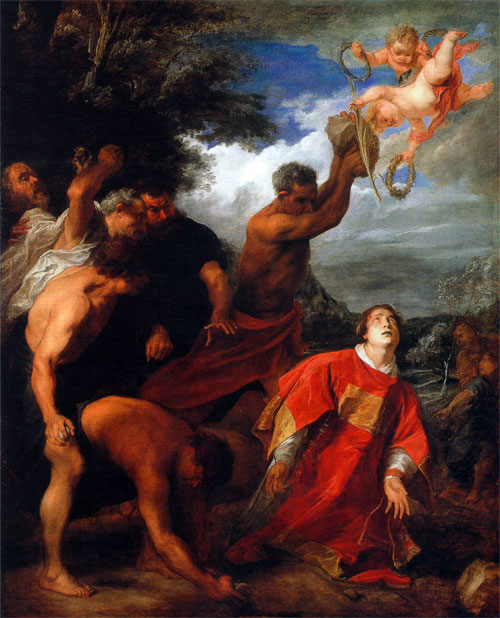 Santo Stefano ed il martirio o «Battesimo di sangue»