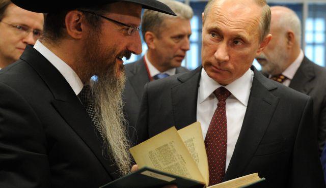 Rabbino capo di Russia plaude a Putin e critica l'Ucraina