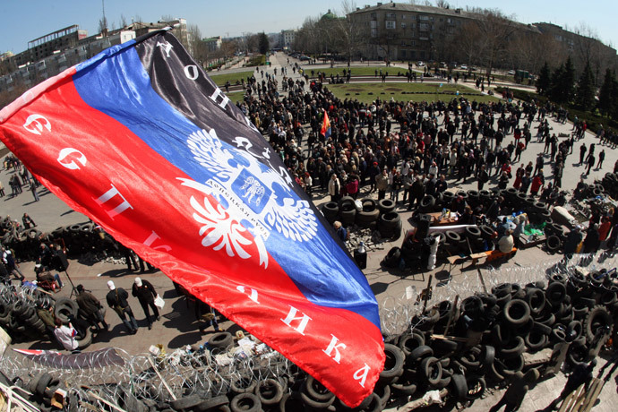 Insurrezione Donetsk, Kharkiv e Lugansk (Ucr. orient.): arrivano i blindati di Kiev