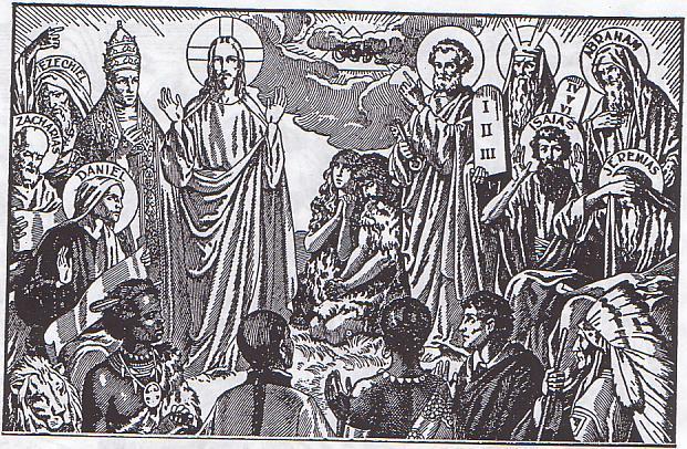 [IMMAGINE STUPENDA (2)] Cristo e Papa annunciati dai Profeti