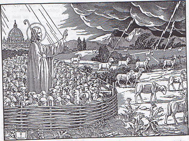 [IMMAGINE STUPENDA (18)] L'ovile cattolico