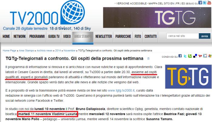 """Confermato. Luxuria parlerà dalla TV dei vescovi: in veste di """"ospite qualificato"""", """"esperto"""" o """"giornalista""""?"""