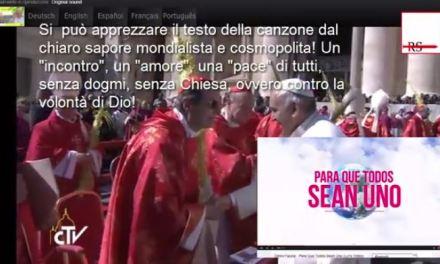 Domenica delle Palme 2015. Vaticano, dance latina e cosmopolita
