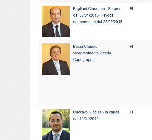 Il testo dell'interpellanza firmata dall'intero gruppo FI sul 'caso Radio Spada'