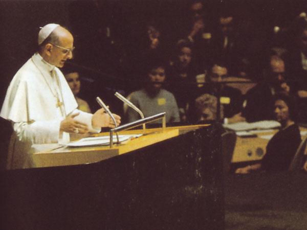 Il discorso di Montini (Paolo VI) all'ONU: una 'circolare' della massoneria?