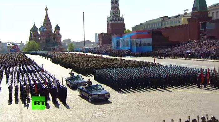 Парад Победы в Москве 2015 – Parata della vittoria a Mosca, video integrale