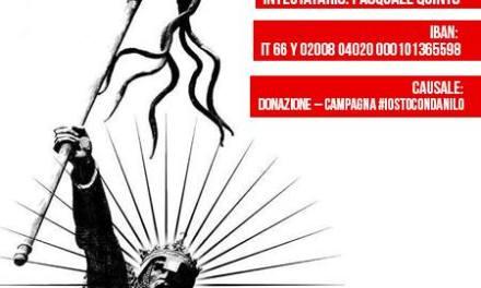Mattia Rossi aderisce alla campagna #IoStoConDanilo