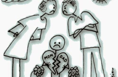 Divorzio dei genitori? Per i bambini è quasi peggio della loro morte