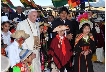 Bergoglio 'lascia onorificenza blasfema' in Bolivia? La 'affida' alla Vergine di C.