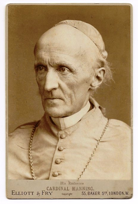 [GLORIE DEL CARDINALATO] S.E.R. Cardinal Henry Edward Manning (1808-1892)